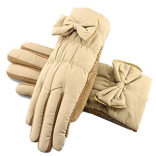 ZXQADRVW Ski Gloves Ski GlovesGuantes cálidos de Invierno Deportes al Aire Libre...