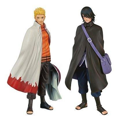 Banpresto Naruto Shippuden DXF Shinobi Relations SP2 Naruto and Sasuke Action Figure Set by Banpresto