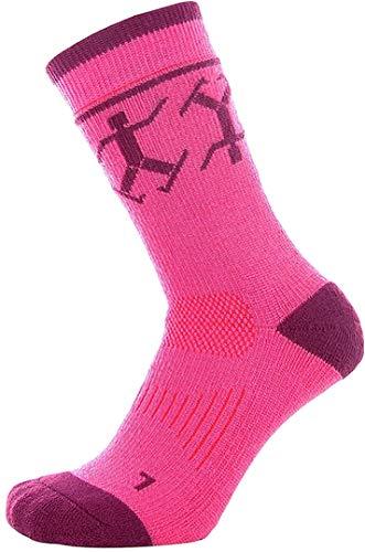 Devold Merino Socken Winter Kids Cerise/Plum 25-27