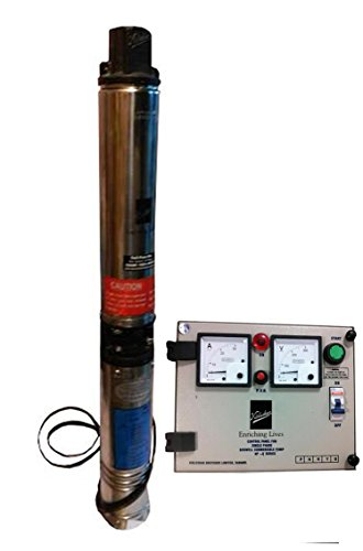 Kirloskar KP4Jalraaj-1009s Submersible pump with control panel
