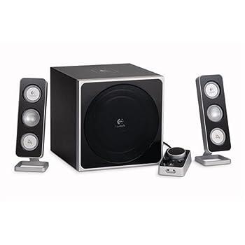 Logitech Z-4 2.1 Speaker System with Subwoofer  Black