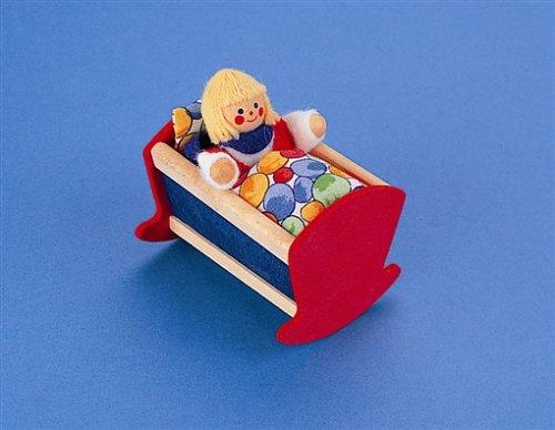 Selecta 4204 Puppenhauszubehör Wiege