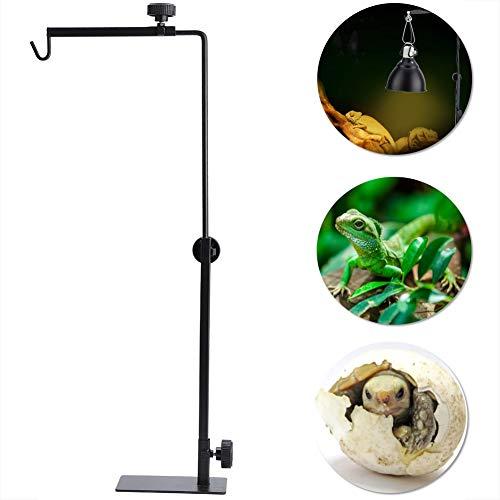 Schildkröten Heizung Lampe Halter Reptile Lamp Stand Einstellbare Lampenhalterung Haltevorrichtung Light Bracket für Aquarium Reptil Schildkröte Wärmelampe