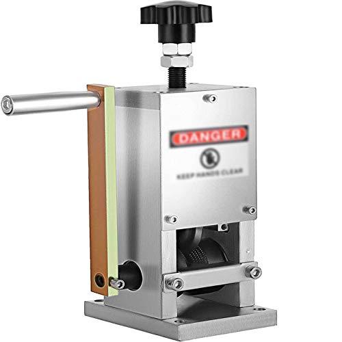 Kabelschälmaschine Aluminium Legierungsstahl Abisoliermaschine Manuelles Abisoliergerät Wire Stripping Machine für 1.5-25 mm Kabel-Splitter