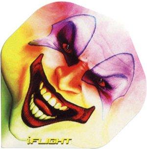 STRONG iFlight Dart Flights - Verschiedene Designs, 3 Stück (Bad Clown)