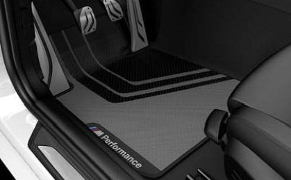 BMW M Performance Floor mats Front and Rear 4 Series