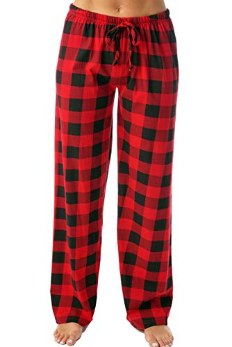 Just Love Women Pajama Pants Sleepwear 6324-10195-RED-M