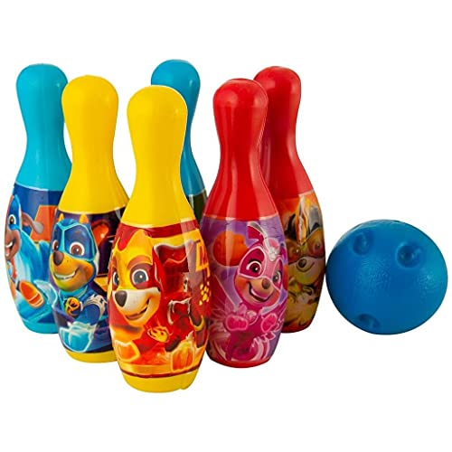PAW PATROL Mighty Pups Super Paws Bowling 7-delig.