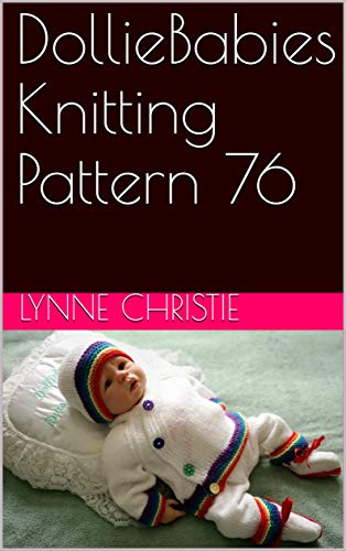 DollieBabies Knitting Pattern 76 (English Edition)