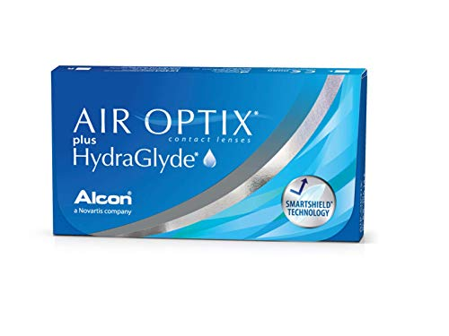 Air Optix HydraGlyde Monatslinsen weich, 6 Stück / BC 8.6mm / DIA 14.2 / -2 Dioptrien