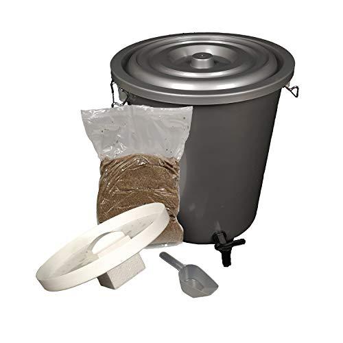 per eliminare i microrganismi Organico Bokashi Pattumiera per compost per rifiuti da cucina