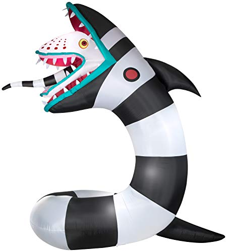Gemmy 9.5' Animated Airblown Inflatable Beetlejuice Sandworm w/LEDs