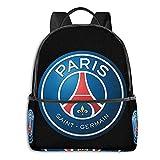 Paris Saint Germain Foot Club Pullover Sudadera con Capucha Estudiante Escuela Bolsa Escolar Ciclismo Ocio Viajes Camping Mochila al