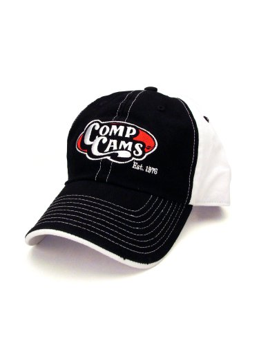 COMP Cams C1021 Black and White Retro Logo Hat