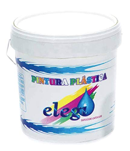 PINTURA PLASTICA BLANCA MATE LAVABLE DE ALTA CALIDAD 22KG INTERIOR-EXTERIOR