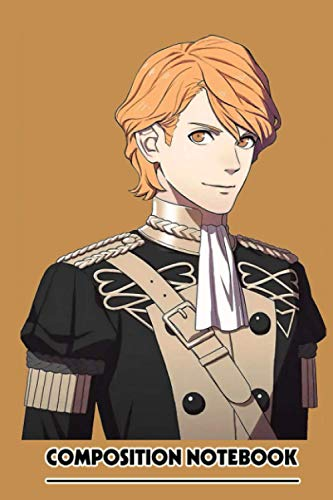 Ferdinand Fire Emblem Three Houses Notebook: (110 Pages, Lined, 6 x 9)