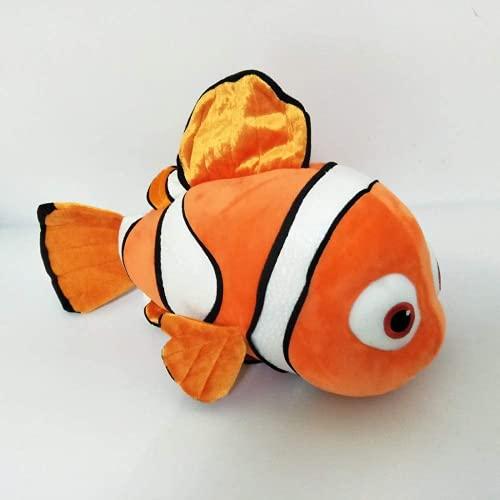 Wideocean Peluche Juguete de Dibujos Animados Feo muñeca de Pescado niños llenados Juguetes Lindos Peces Navidad Regalo de cumpleaños 25 cm