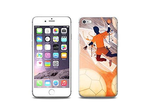 etuo Hülle für Apple iPhone 7 - Hülle Fantastic Case - Handball Handyhülle Schutzhülle Etui Case Cover Tasche für Handy