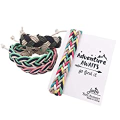 FOR BOTH BOYS & GIRLS: These stylish hand-woven bracelets come in 4 different unique patterns, which appeal to both girls and boys from age 6 to 14. They are adjustable to fit most children and some adults. INDIVIDUALLY WRAPPED: Each individually pac...