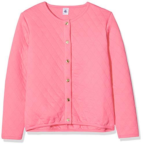 Petit Bateau Mädchen 5407402 Sweatshirt, Pink (Cupcake 175), 8 Jahre