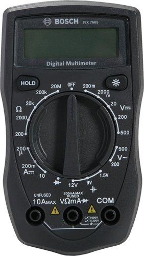 Bosch Digital MULIMETER, FIX 7665