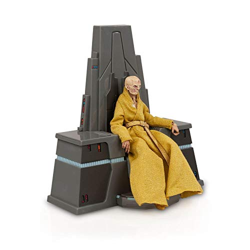 Star Wars Black Series Supreme Leader Snoke w/ Throne 6 Inch Action Figure Set