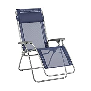 Lafuma LFM4007 R Clip Reclining Chair - Ocean Blue