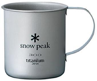 スノーピーク(snow peak) チタンシングルマグ300ml MG042