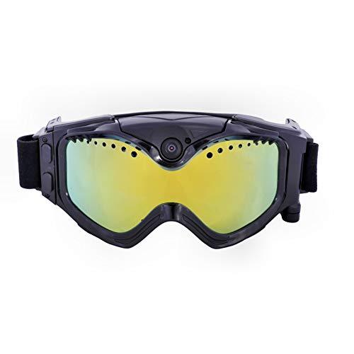 MaiTian 720p HD Ski zonnebril bril WiFi Sport camera kleur dubbele anti-condens-lens skiën met app real-time beeld videobewaking