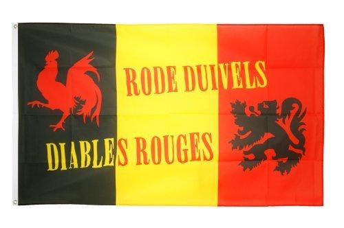 Flaggenfritze Flagge/Fahne Belgien Rode Duivels - 90 x 150 cm