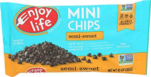 Enjoy Life Chocolate Chips Semi Sweet 10 Ounce