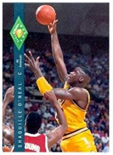 Shaquille O' Neal basketball card (LSU) 1992 Classic Four Sport #318 Rookie Card