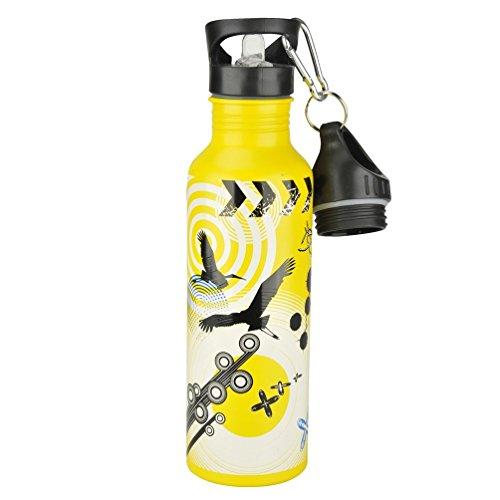 FISCHER Trinkflasche ALU, Gelb, One Size, 86059