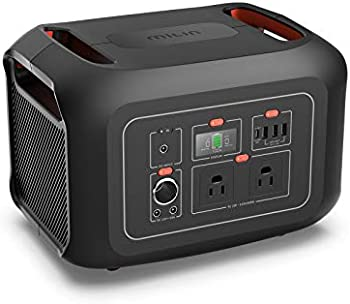 Milin 622Wh Portable Power Station with AC Outlets and LED Flashlight