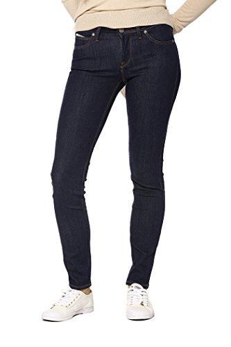 Lee Damen Scarlett Jeans, Solid Blue Kt, 29W / 31L