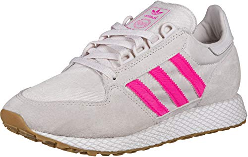 adidas Forest Grove W, Zapatillas de Gimnasia Mujer, Multicolor (Orchid Tint S18/Shock Pink/FTWR White Orchid Tint S18/Shock Pink/FTWR White), 38 EU