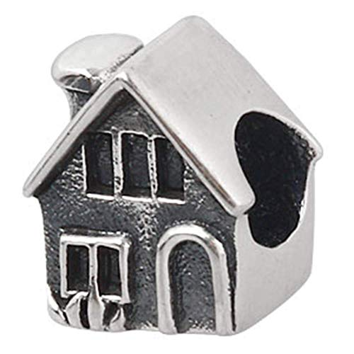 925 Sterling zilveren huis bedeltje charme familie bedeltje liefde bedeltje verjaardag bedeltje voor Pandora bedeltje armband A