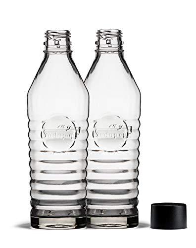 mySodapop Glasflaschen (850 ml) DUO Set für Sharon up