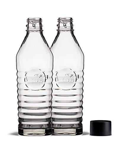 mySodapop Glasflaschen (850 ml) DUO Set für Sharon up
