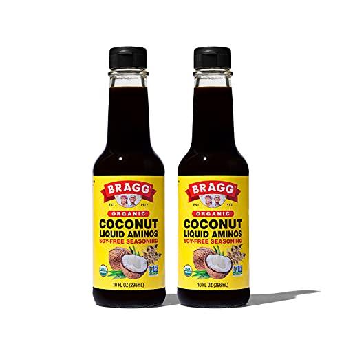 Bragg Coconut Aminos, All Purpose Seasoning, 10 Oz, 2 Pack