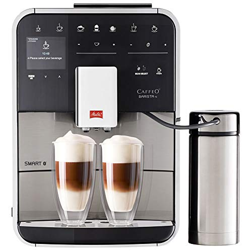 Melitta F86/0-100 Barista TS Smart Coffee Machine, 1450 W, 1.8 liters, Stainless Steel