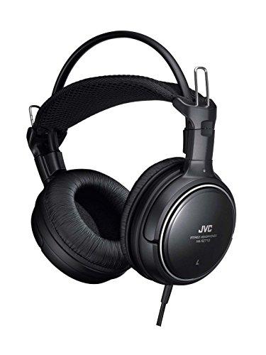 JVC HA-RZ710 密閉型ステレオヘッドホン 室内用(テレビ・ゲーム向け) 1.2m+延長2.3mコード付き