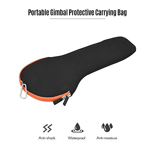 TOPTOO Gimbal port/átil Bolsa de transporte Bolsa de almacenamiento de protecci/ón Buena flexibilidad Material de buceo para Zhiyun Smooth 4 Q //2//3 Crane M Feiyu Vimble 2 SPG c para Osmo Osmo Handheld