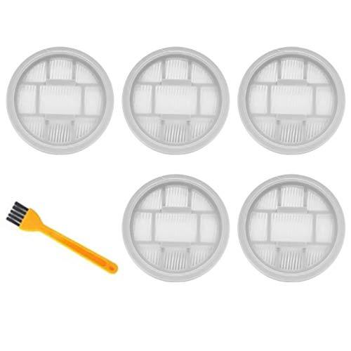YYCFB Mango aspiradora Hepa filtro para Deerma VC20S VC20 mango polvo piezas accesorios filtros 5 piezas