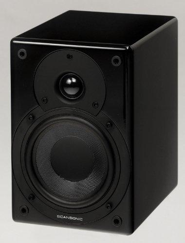 Scansonic S5 aktiv Lautsprecher Paar schwarz