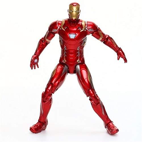 Action-Figuren Avengers Spielzeug - Marvel Avengers 18cm Superheld Charaktere PVC Eines bewegliches Gelenk Puppe Aktion-Figuren Modell Lizenzierte ABS Marionette Mit 16 Arthrosen Worth Collecting Toll