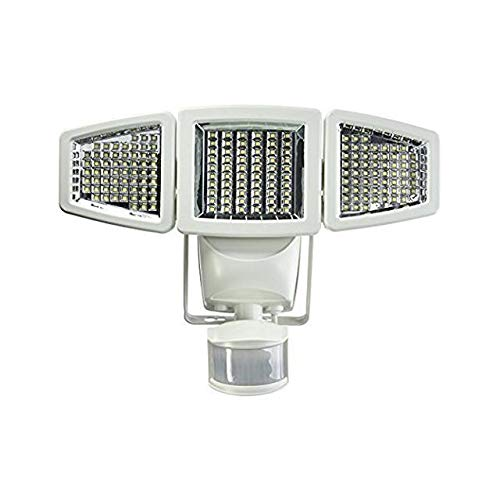Sunforce 82183 - 180 LED Solar Motion Light, triple head, 1200 Lumens