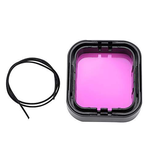 minifinker Juego de filtros de Buceo Filtro de cámara Rosa, para Gopro Hero 5/6