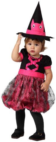 Atosa 14810 Disfraz bruja rosa 6-12 meses, talla niña