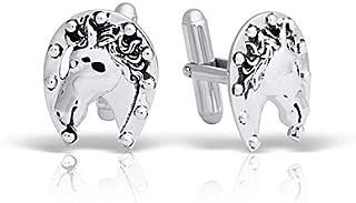 Best horseshoe cufflinks sterling silver Reviews